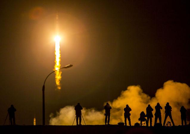Start kosmické lodi Sojuz TMA-16M