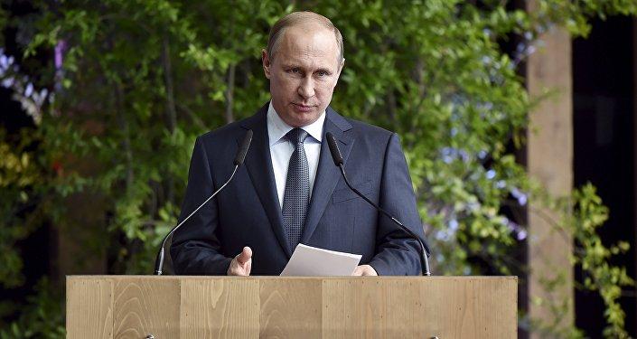 Vladimir Putin v Itálii