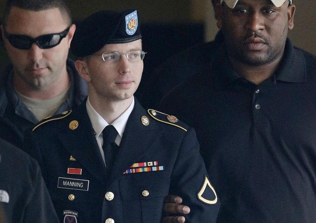 Voják armády Spojených států Bradley Manning