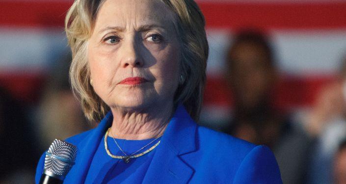 Bývalá kandidátka na post prezidenta USA Hillary Clintonová