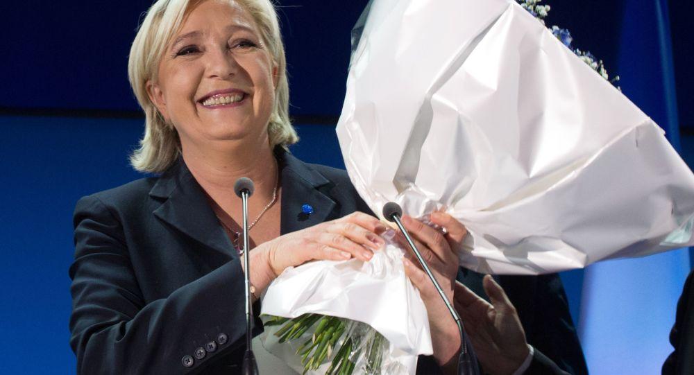 Předsedkyně Národní fronty Marine Le Penová