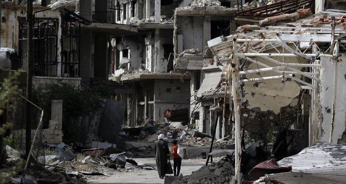 Al-Zabadani, Sýrie