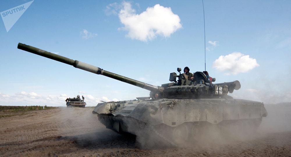 Tank T-80 (ilustrační foto)