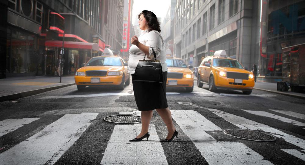 Tlustá žena v USA