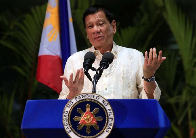 Prezident Filipín Rodrigo Duterte