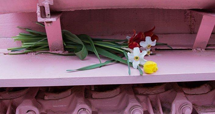 Růžový tank v Brně