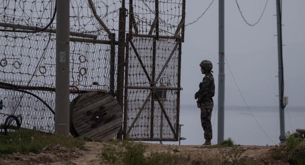 Demilitarizovaná zóna mezi Jižní Koreou a KLDR