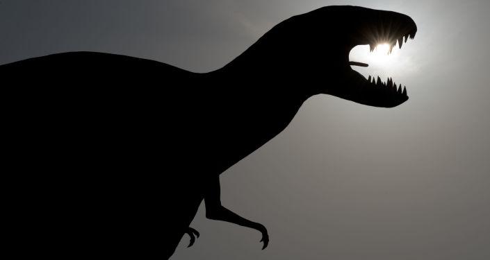 Model dinosauru v Německu