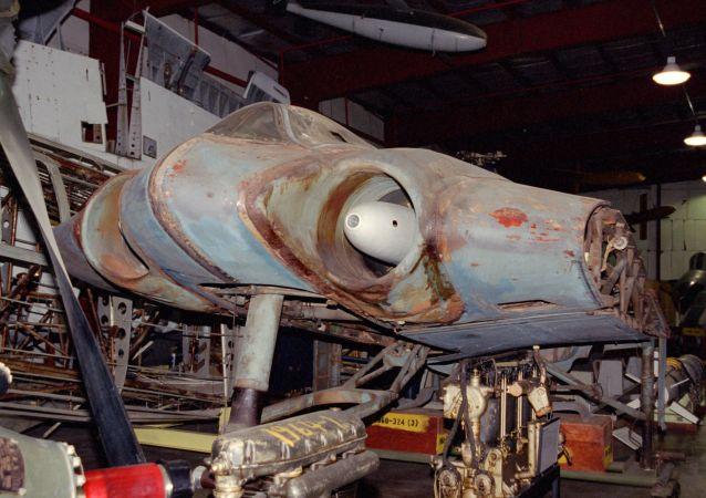 Trup letadla Horten Ho IX