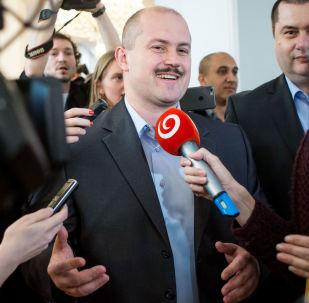 Lídr politické strany Lidová strana Naše Slovensko Marian Kotleba