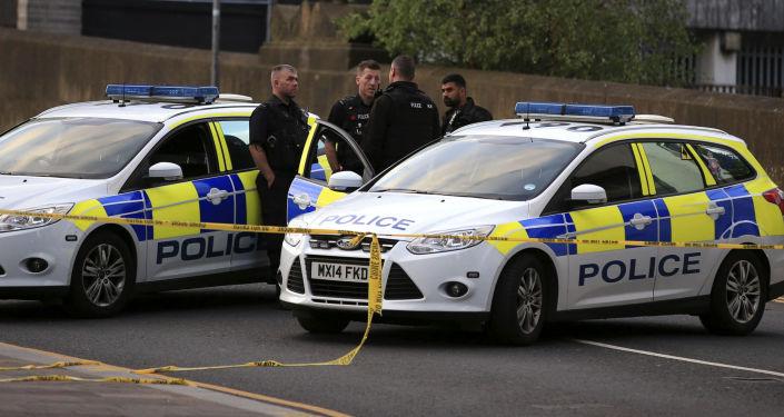 Policie v Manchesteru. Ilustrační foto