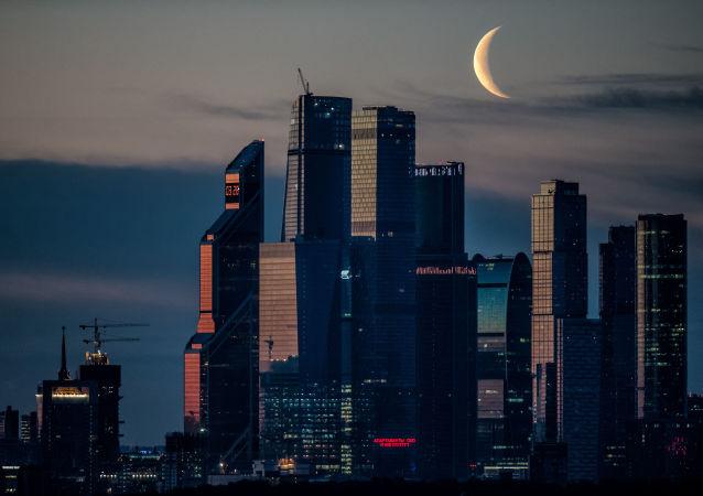 Ruské obchodní centrum Moskva-City