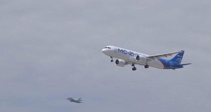 V Irkutsku poprvé vzlétl ruský stroj MS-21