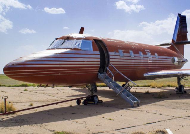 Osobní letadlo, které patřilo králi rokenrolu Elvisu Presleymu