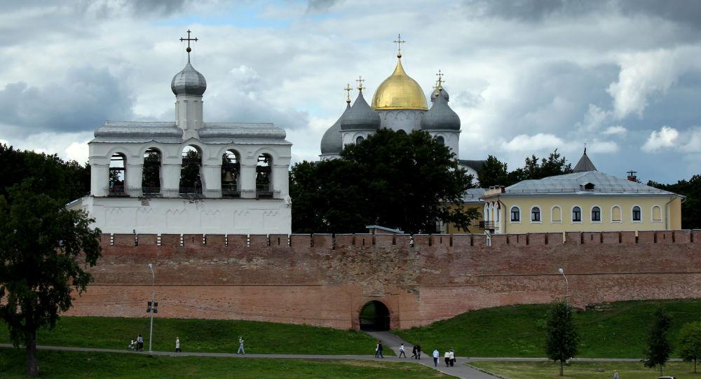 Chrám svaté Žofie v Novgorodě
