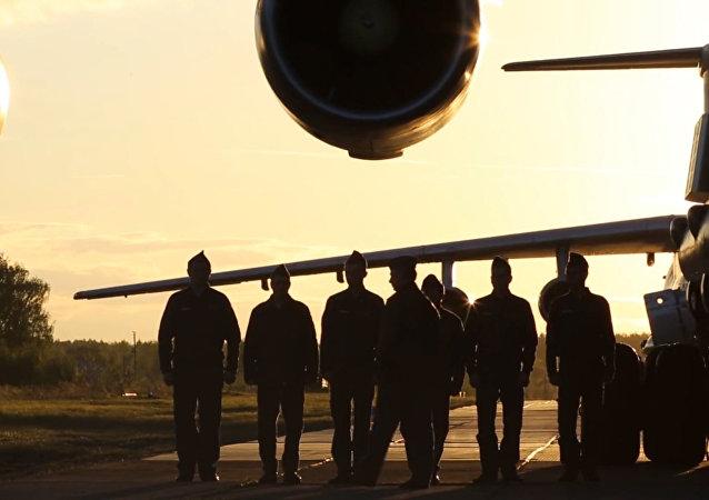 Ministerstvo obrany Ruska zveřejnilo video o službě dopravního letectva