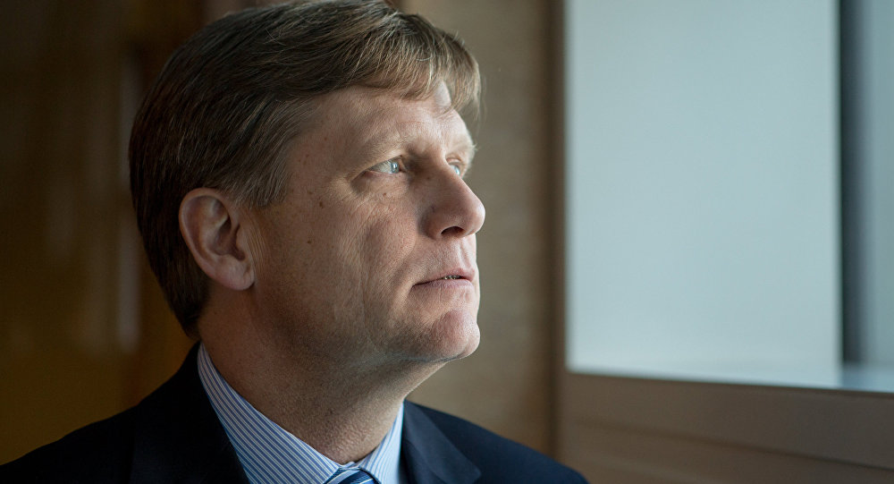 Bývalý velvyslanec USA v Rusku Michael McFaul
