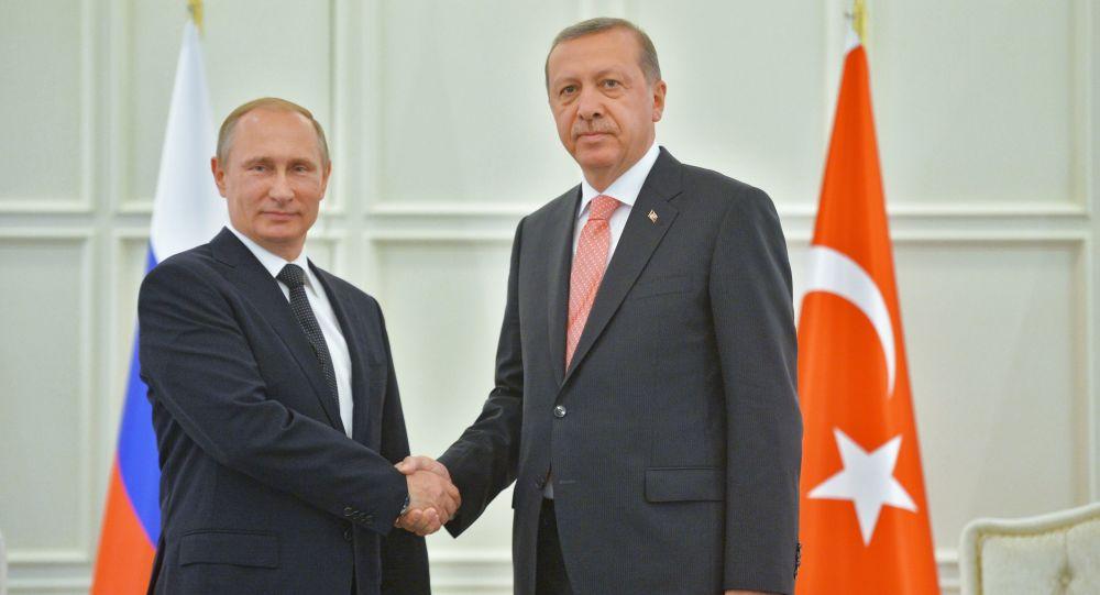 Putin a Erdogan jednali v Baku