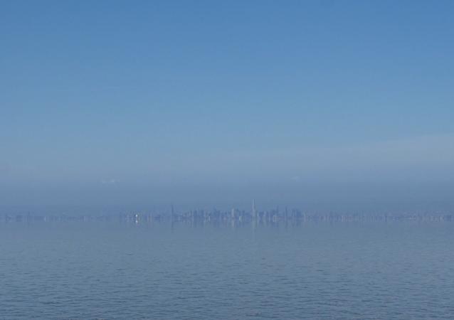 Na videu zveřejnili záběry New Yorku, který byl zaplaven kvůli globálnímu oteplování