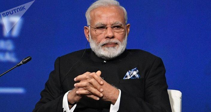 Indický premiér Naréndra Módí