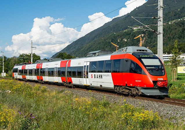 Rakouská železnice ÖBB. Ilustrační foto