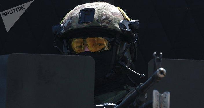 Cvičení FSB na Krymu