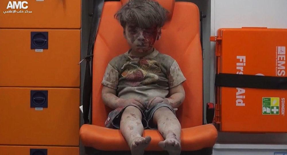 Syrský chlapec Omran