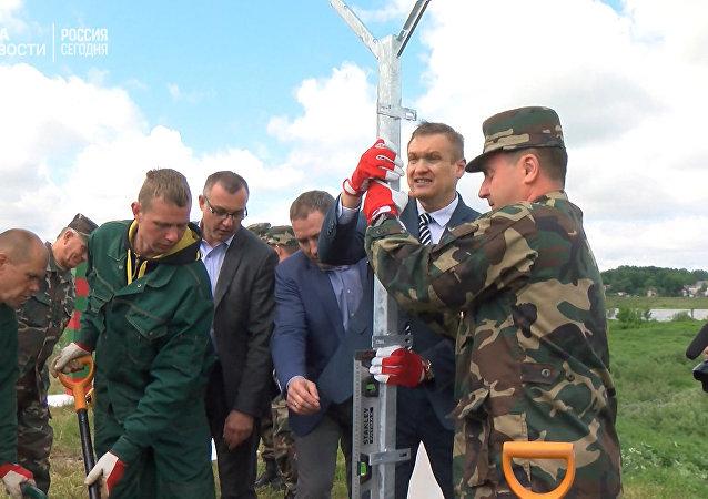 Litva začala stavět zeď na hranici s Ruskem