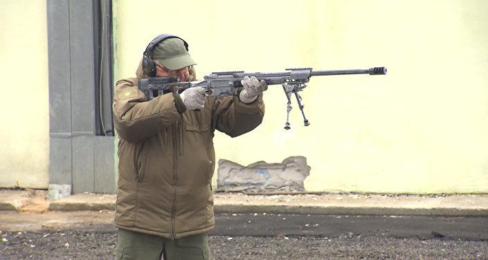 Testové střelby z pušky Točnosť
