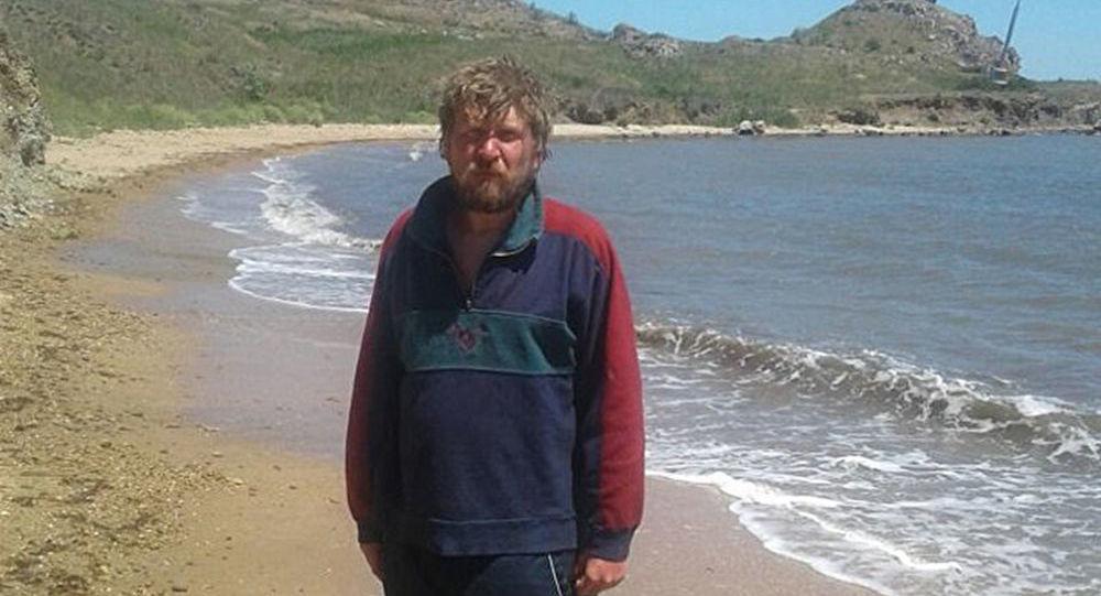 Muž, který pokusil přeplavat Kerčský průliv
