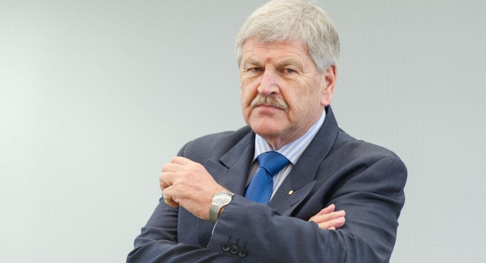 Německý poslanec Evropského parlamentu Udo Voigt