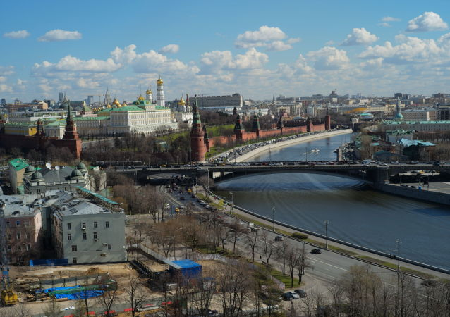 Pohled na Moskvu