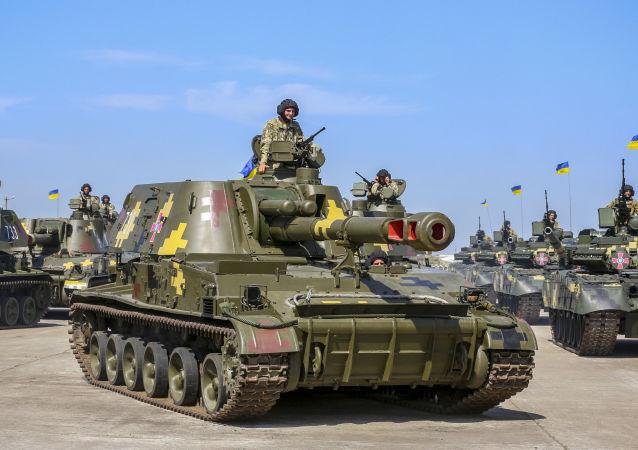 Ukrajinská vojenská technika. Ilustrační foto
