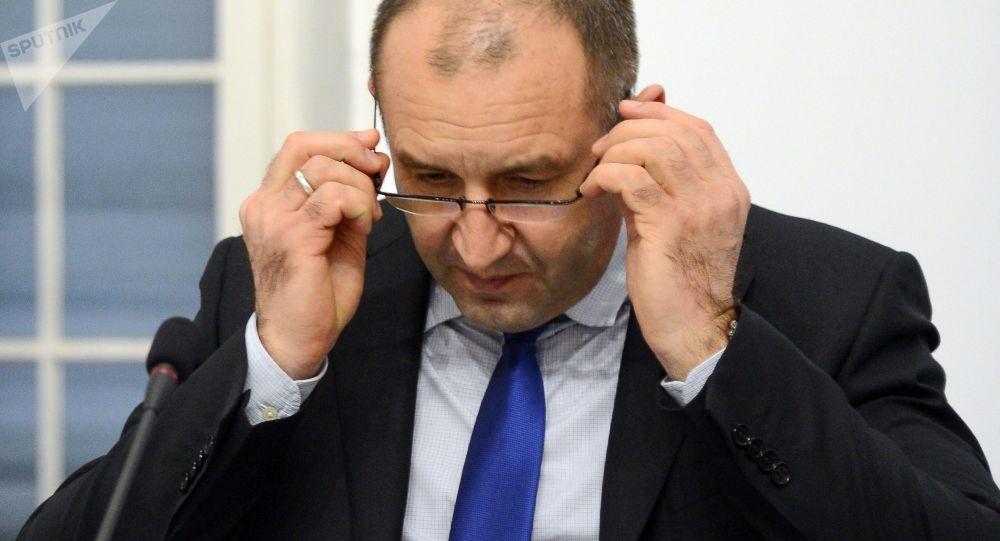 Bulharský prezident Rumen Radev