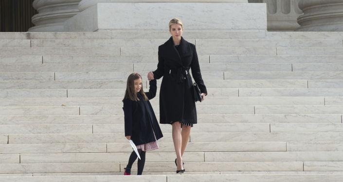 Ivanka Trumpová a její dcera Arabella