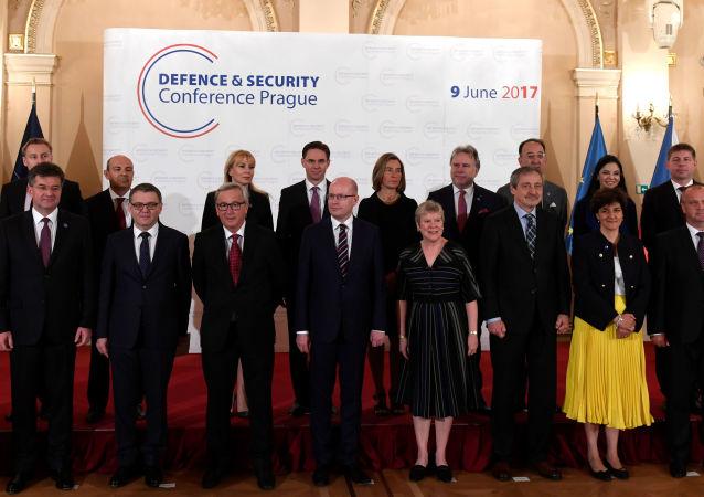 Účastníci konference pro bezpečnost v Praze