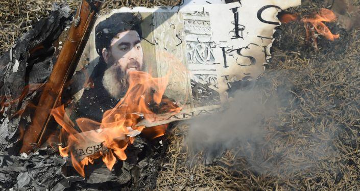 Foto vůdce IS Ibrahím Abú Bakr al-Bagdádí