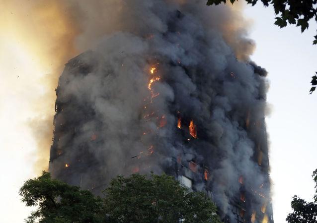 Požár v Londýně