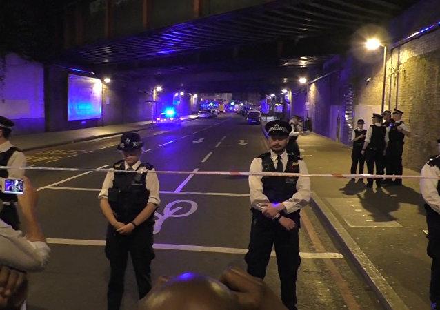 Policie v Londýně. Ilustrační foto