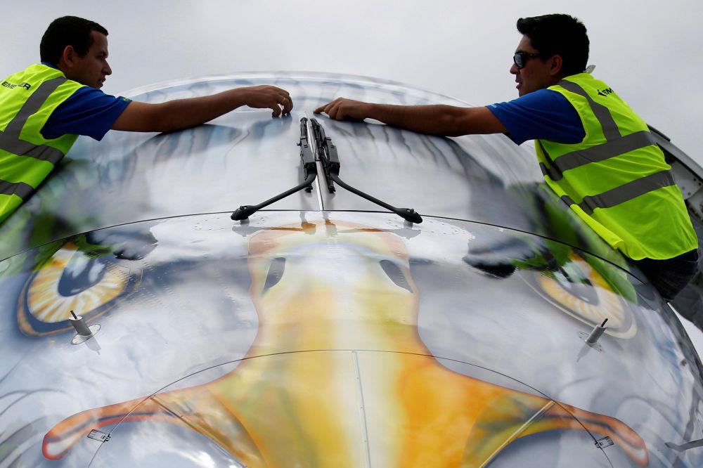 Zahájení mezinárodního Pařížského aerosalonu Le Bourget 2017