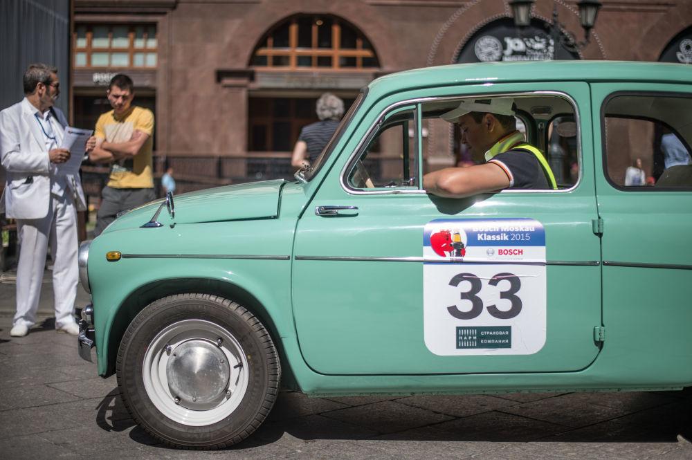 Rallye Bosch Moskau Klassik 2015