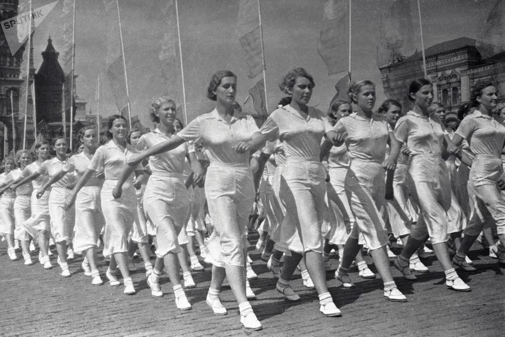 Krása 20. století: Nejhezčí dívky SSSR