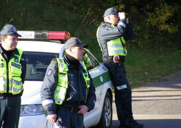Policie v Litvě