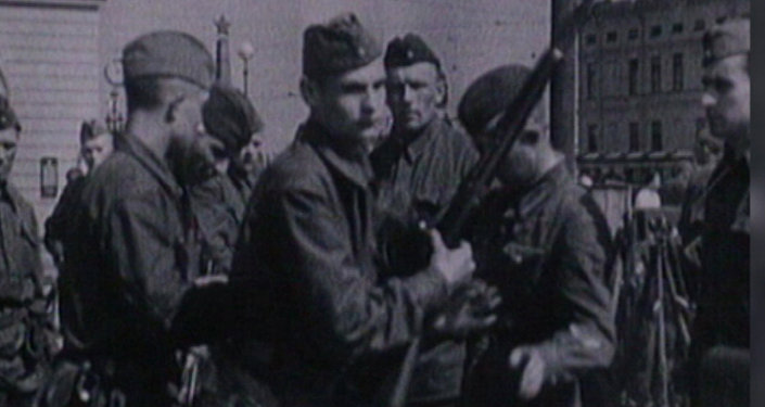 Archivní záběry: začátek Velké vlastenecké války. Video
