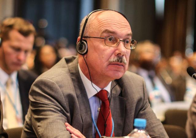 Stálý zástupce Ruska při mezinárodních organizacích ve Vídni Vladimir Voronkov