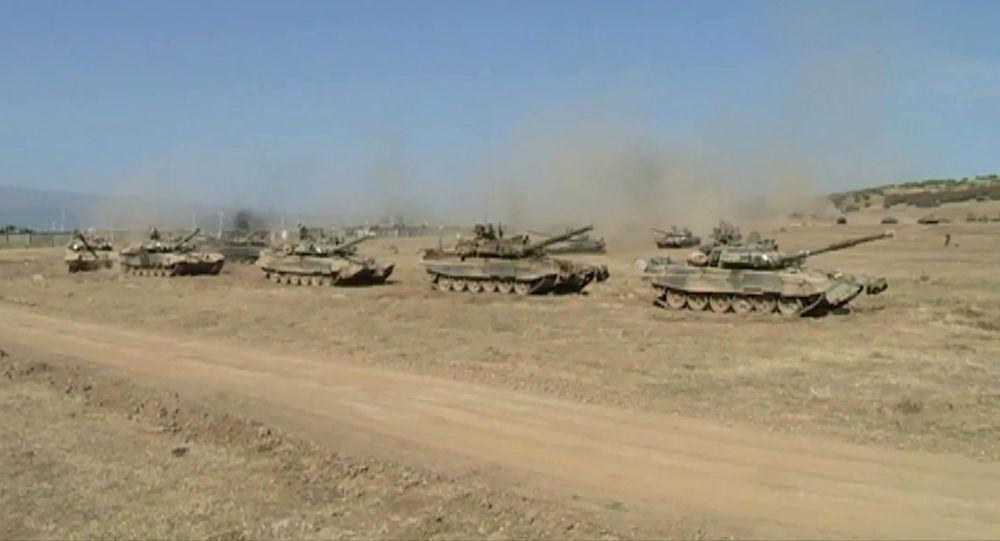 Uganda má ve výzbroji ruské tanky T-90 (Ilustrační foto)