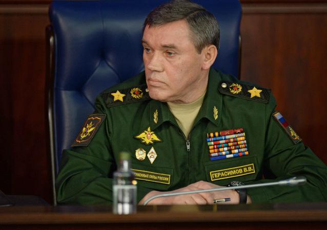 Náčelník ruského generálního štábu Valerij Gerasimov