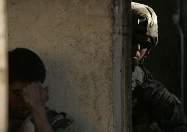 Odstřelovač v Iráku
