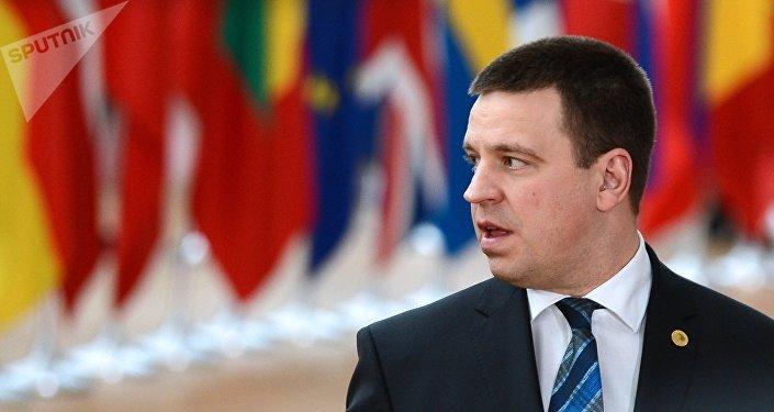 Estonský premiér Jüri Ratas