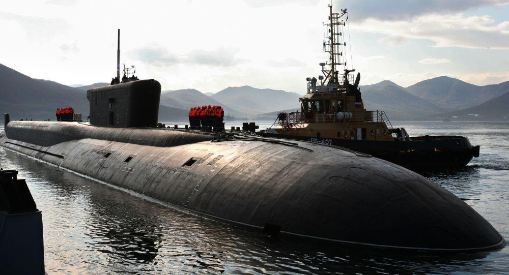 Ruská ponorka projektu 955 Vladimir Monomach